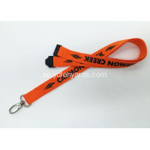 One Color Silk Screen Lanyards / Promotional Lanyards